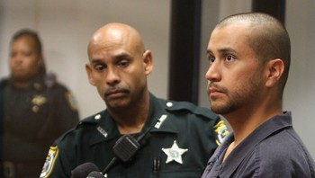 George Zimmerman i retten i Sandford, Florida