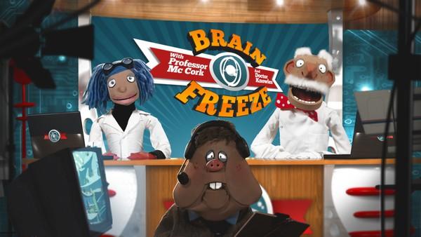 Irsk animasjon. Bli med Dr. Lurum og Prof. Kork når dei svarer på dei små og store spørsmåla i livet.