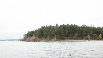 Video Utøya - i båt rundt Nakenodden