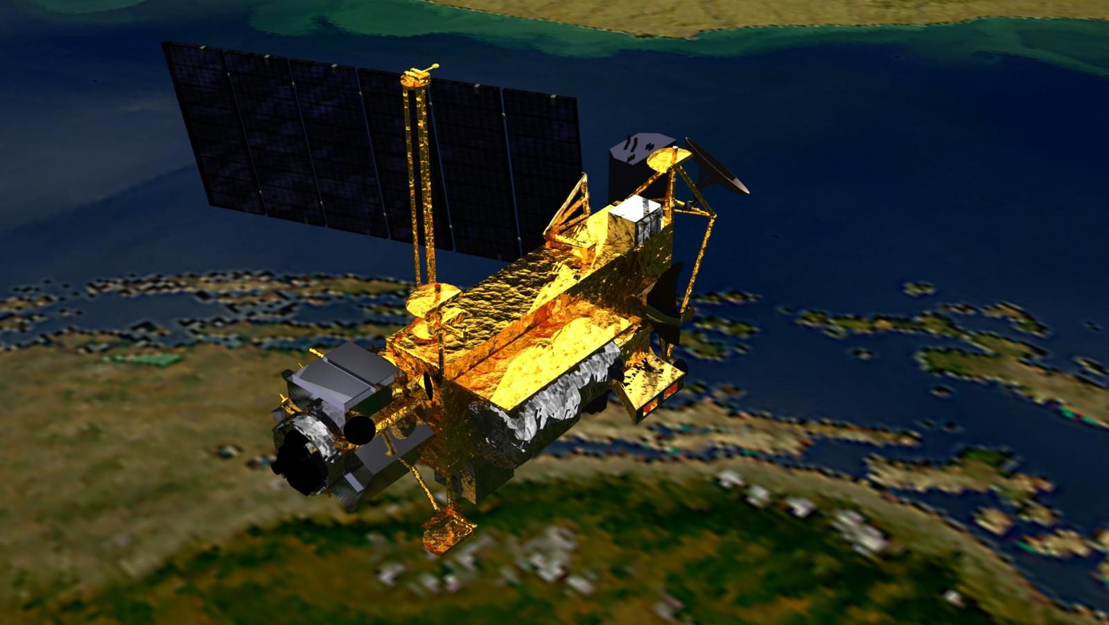nasa satellite tracker - 836×627