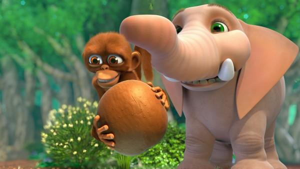 Sør-Afrikansk animasjonsserie. Modige og nysgjerrige Ape og den storhjertede Snabel lever sammen i jungelen.