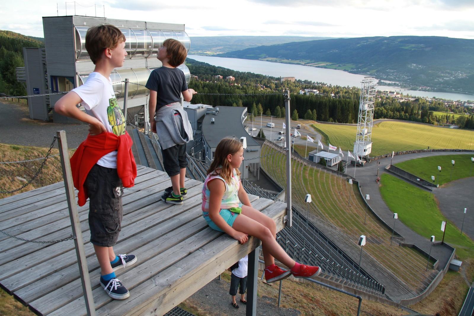 OL-anleggene trekker fortsatt mange turister til Lillehammer, som er Norges 4. mest søkte feriedestinasjon.