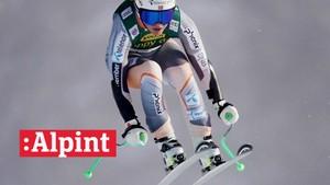 V-cup alpint: Utfor, kvinner