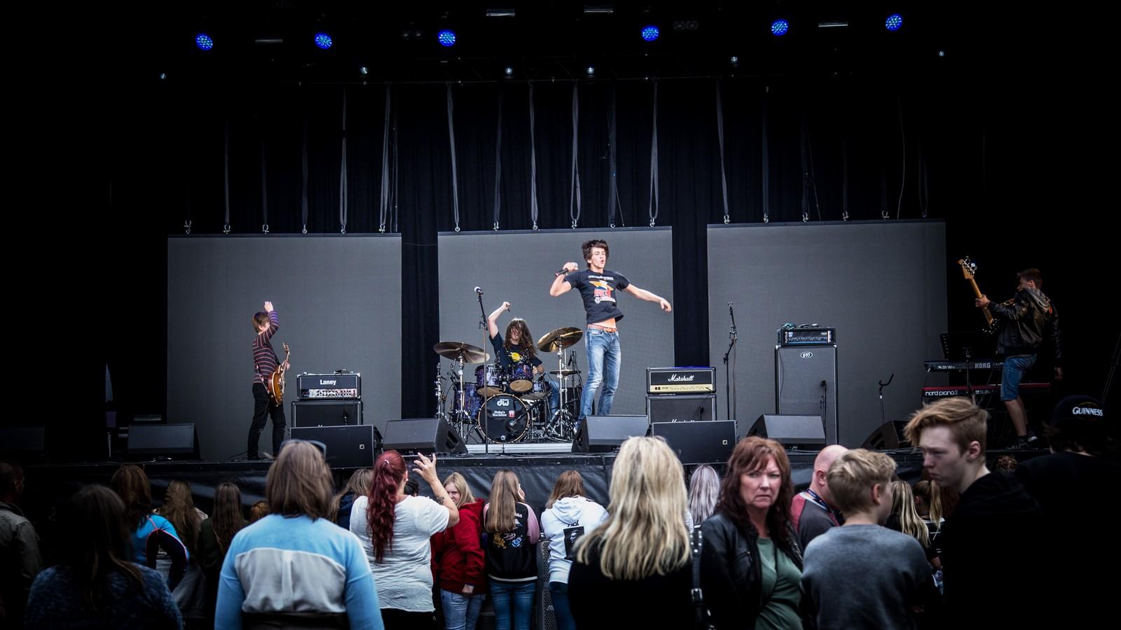 Piraya på scenen