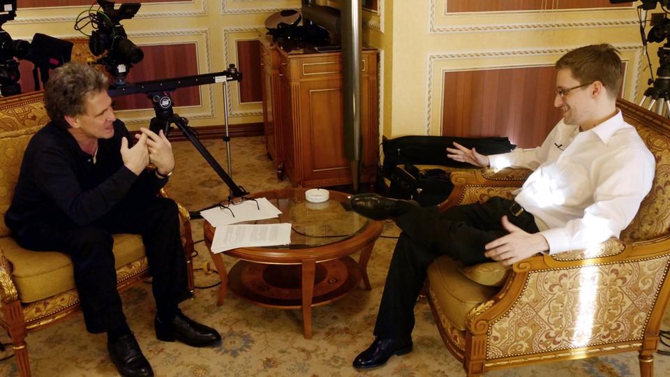 Et møte med Edward Snowden