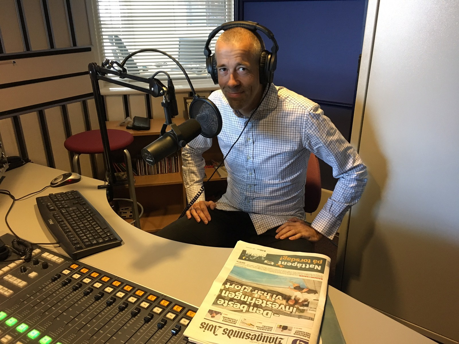 Einar Tho, sjefredaktør Haugesunds avis
