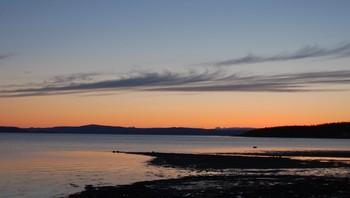 Kveldsstund ved fjorden, Verdal