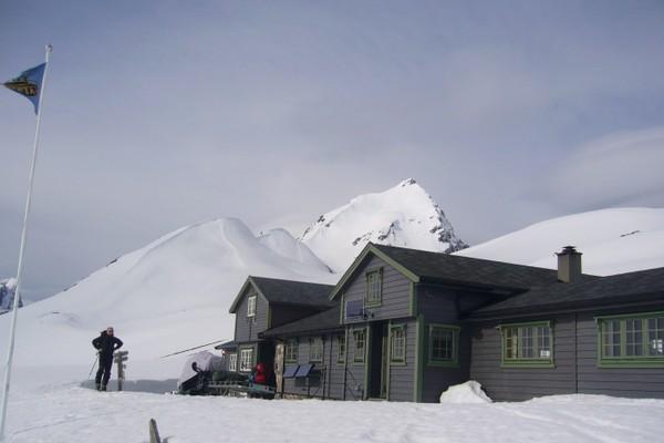 Patchellhytta er en flott toppturhytte - Foto: Kjetil Vaage Øye