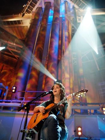Ingen har trolig sunget så dypt som Katie Melua gjorde mandag.