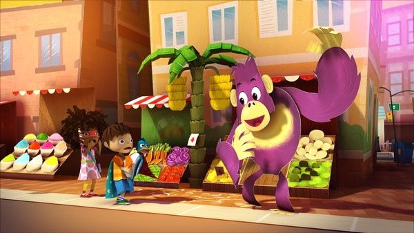 "<span class=""kicker-title"">Zack & Quack:</span>Stopp-pop den gorillaen!"