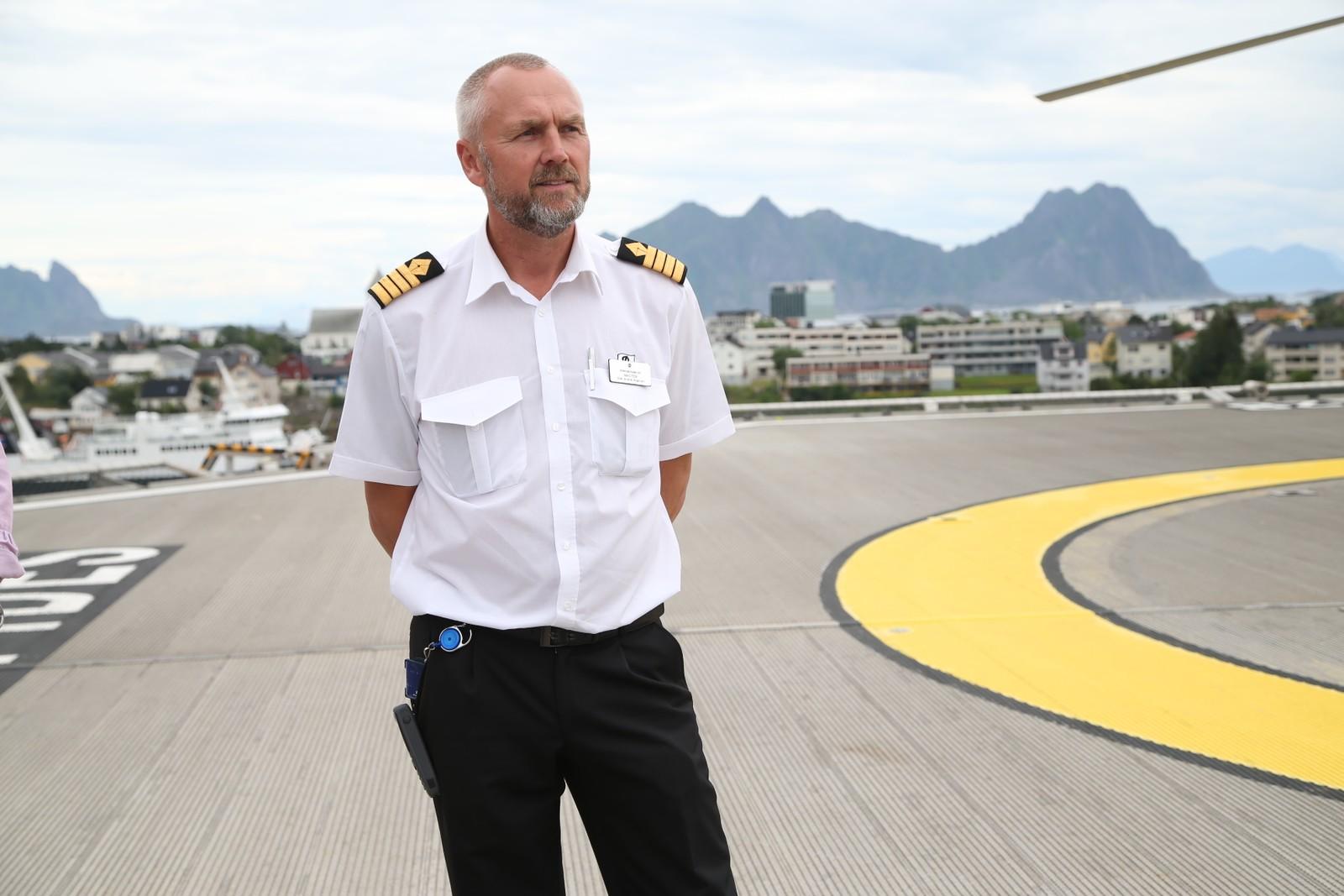 Kaptein Ole Andre Kjørlien.