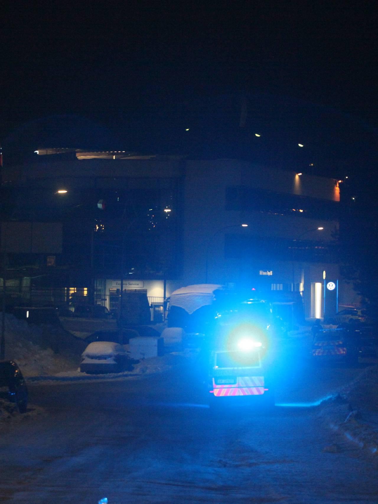 Politi på Bryn i Oslo etter skyting