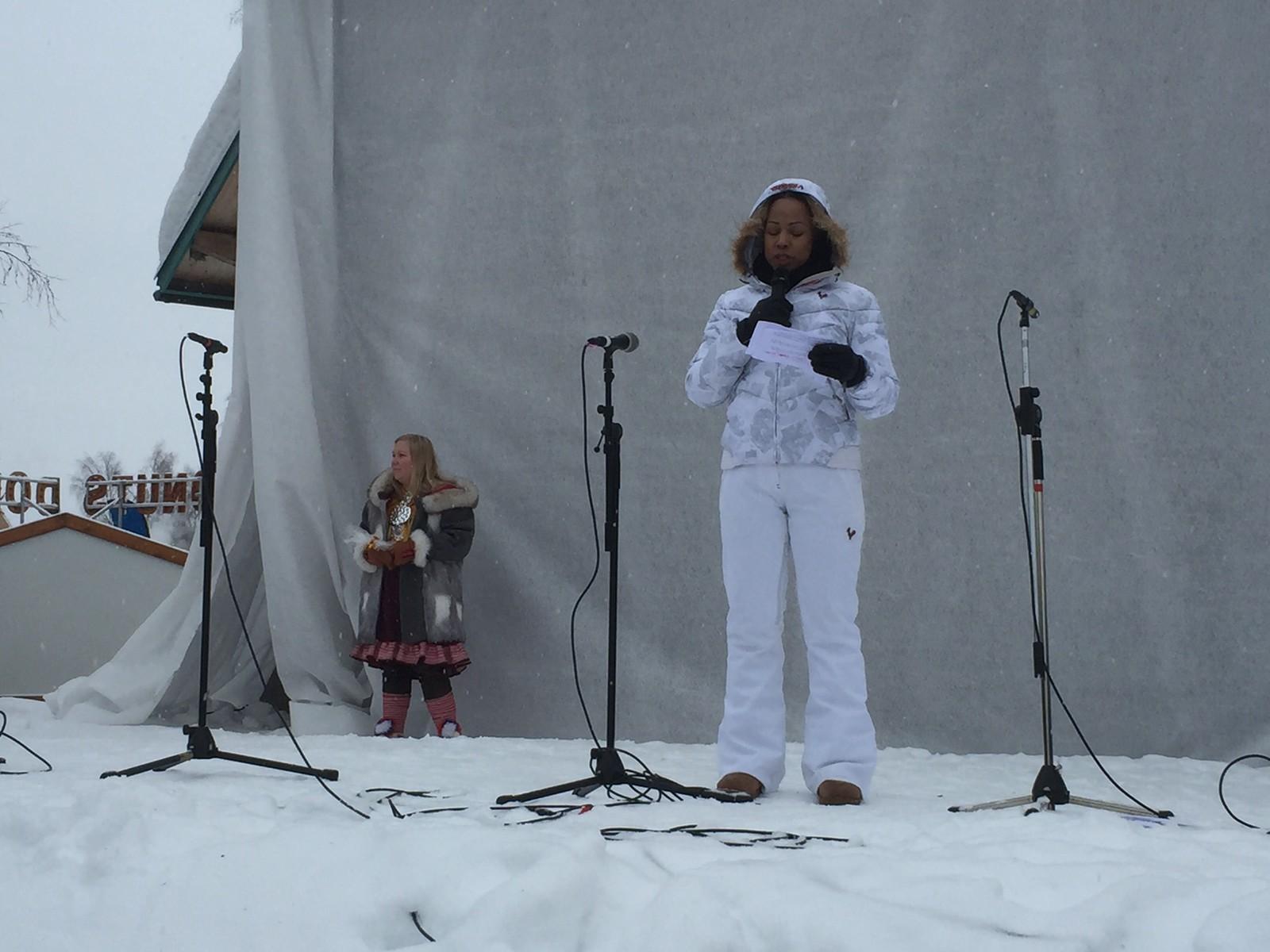 Den svenske kultur- og sameministeren Alice Bah Kuhnke deltok i feiringen av samenes nasjonaldag for andre året på rad i Jokkmokk.