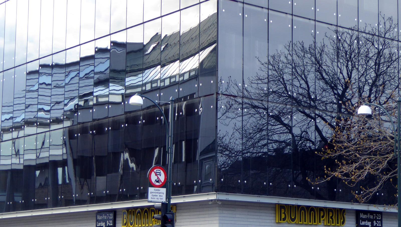 Bunnpris speiler byen