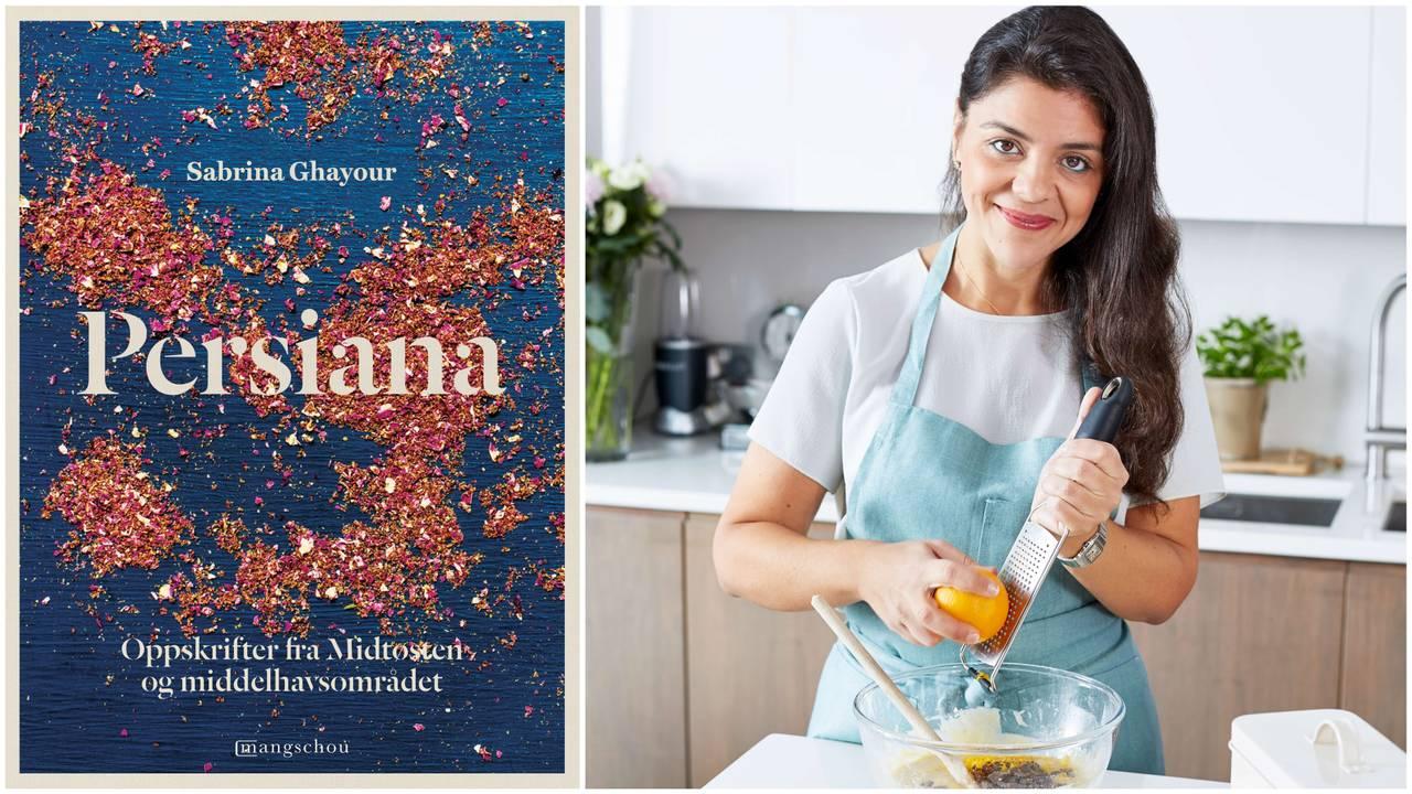 Sabrina Ghayour har laget kokeboken «Persiana - oppskrifter fra Midtøsten og middelhavsområdet».