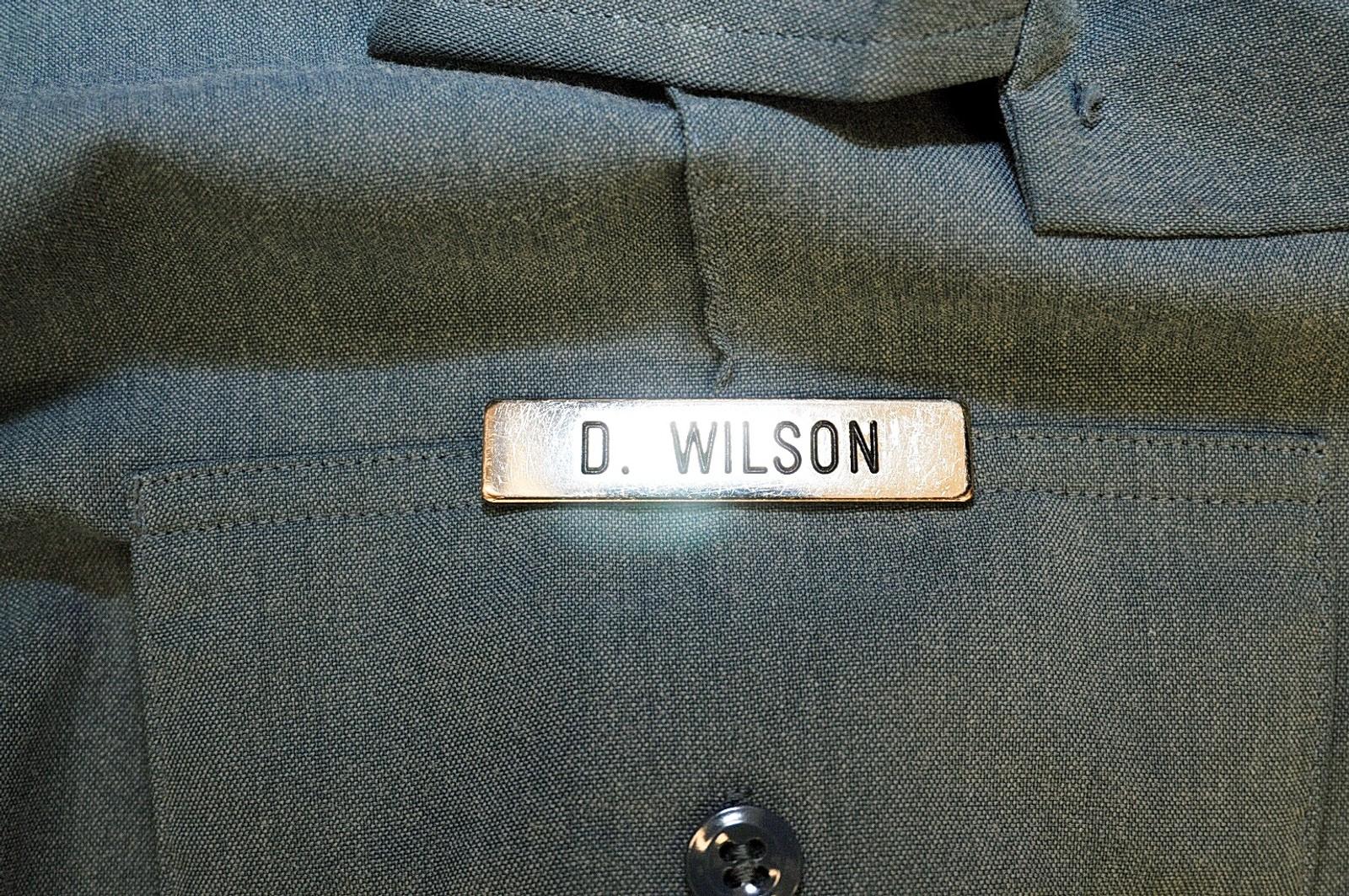 Uniformen Darren Wilson hadde på seg da han skjøt og drepte Michael Brown.