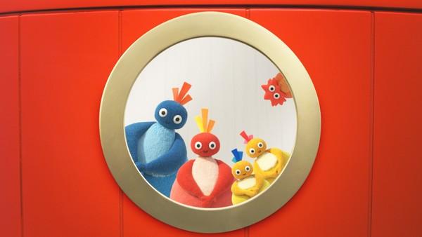 Britisk animasjonsserie.  Bli med Store Hu, Tuddelu, Pippeli og Pip på oppdagingsferd!