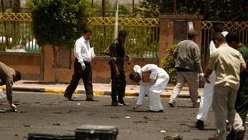 Politimenn i Jemen