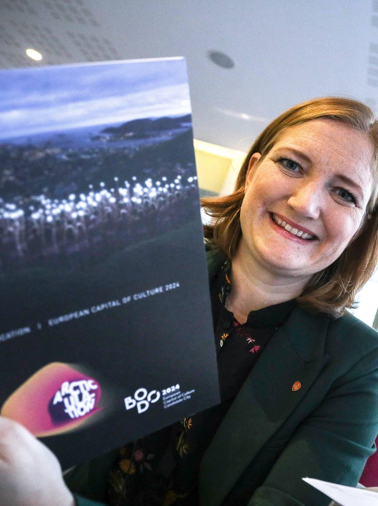 Ida Pinnerød holder søknad for kulturhovedstad