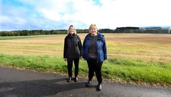 Statsminister Erna Solberg og landbruks- og matminister Sylvi Listhaug
