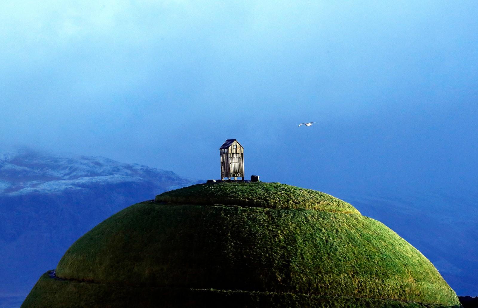 Turistattraksjonen Thufa på Island.