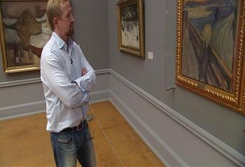 Video Pål Enger om salget av Skrik