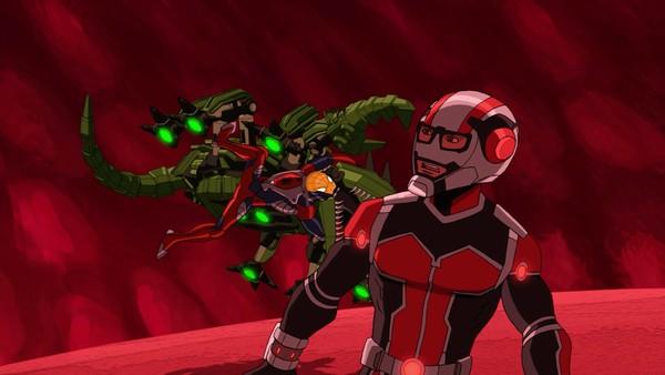 """<span class=""""kicker-title"""">Den ultimate Spider-Man:</span>Spider-man og Ant-man krymper"""