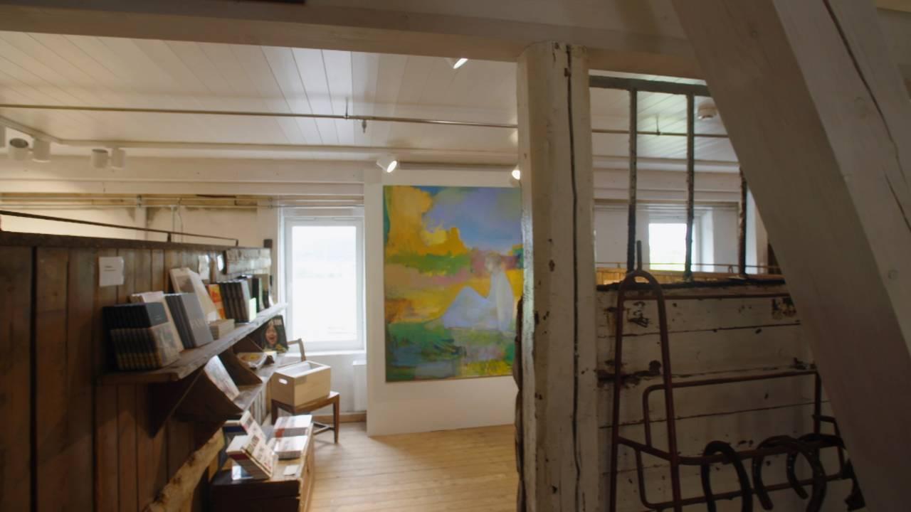 Glasslåven kunstsenter ombygget av Gaia arkitekter