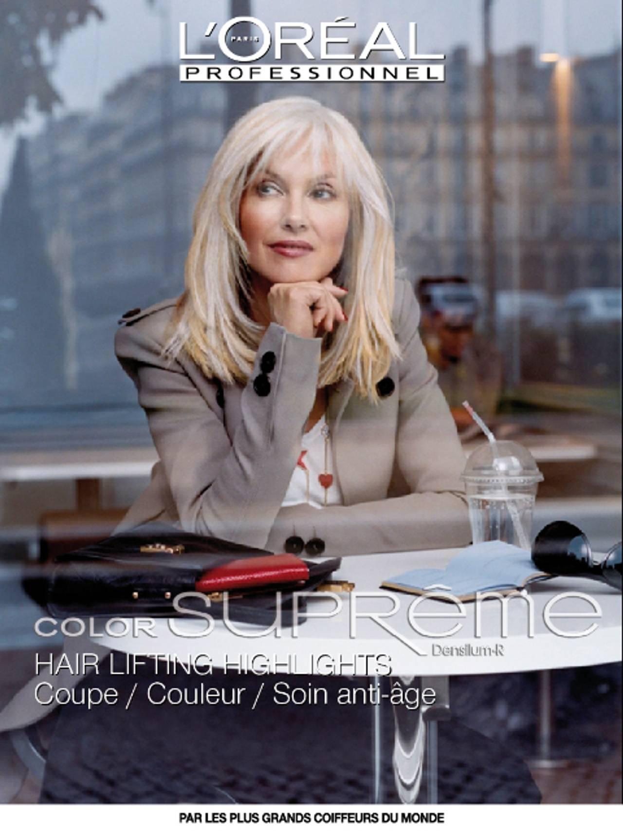 Velaug modell for L´Oréal Paris