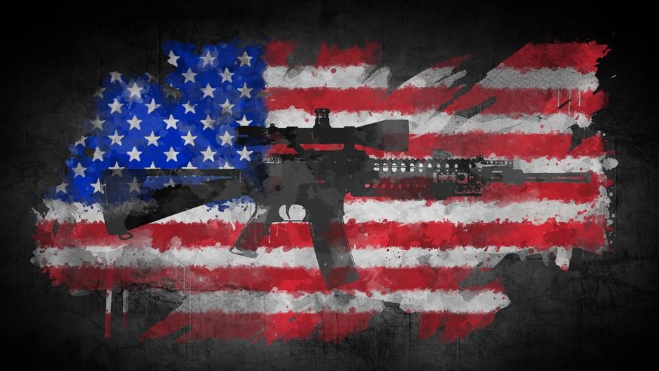USA - ein væpna nasjon