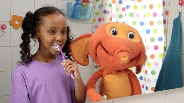 Det er gøy å pusse tennene!