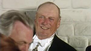 Kong Olav 75 år - Festmiddag på Akershus slott