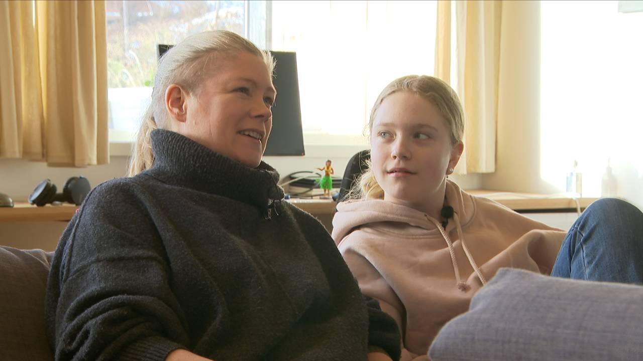 Heidi Sinding-Larsen, gamer-mamma Lyra Sinding-Larsen, 12 år