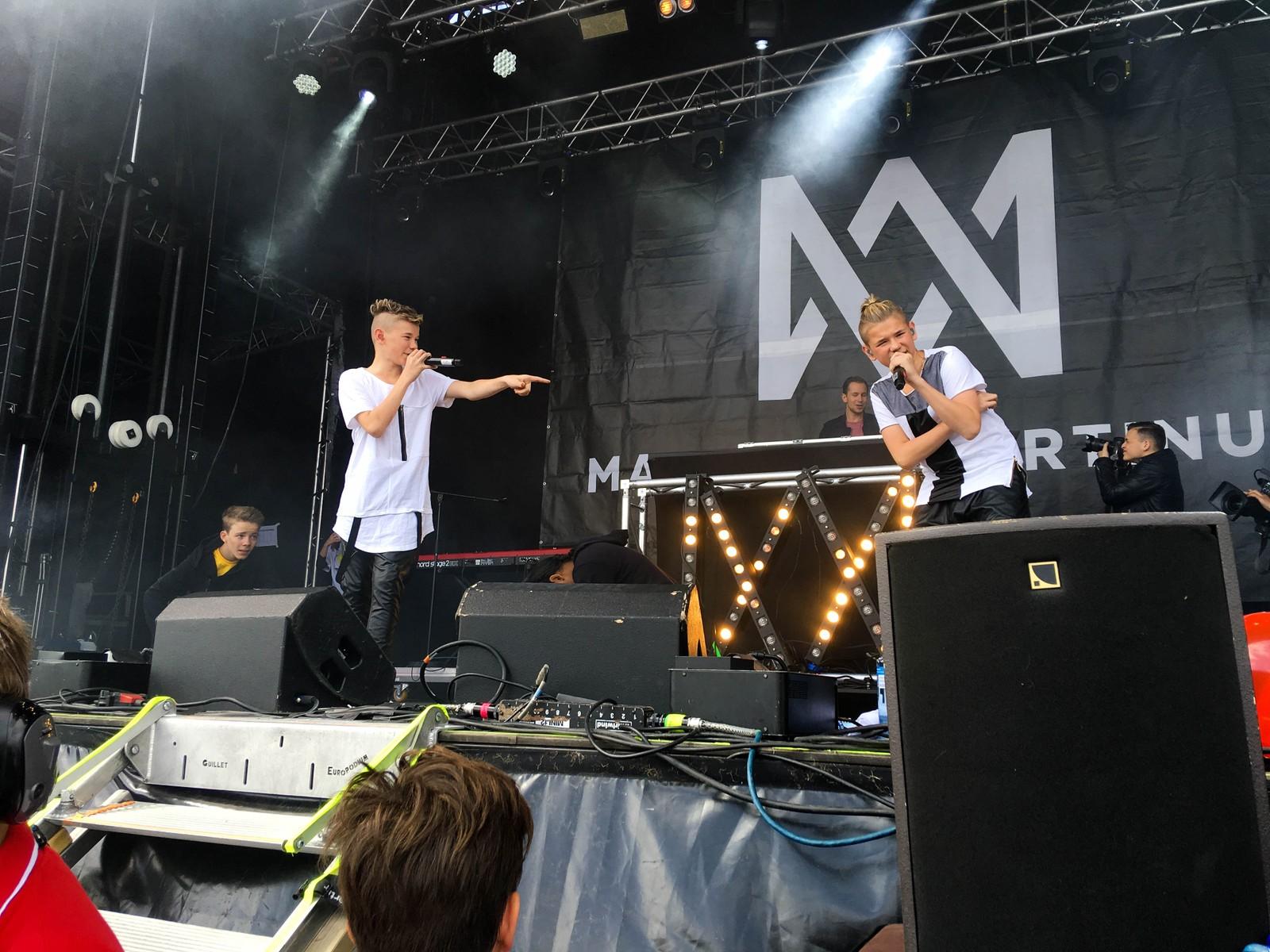 Marcus & Martinus på Sommerfesten 2016