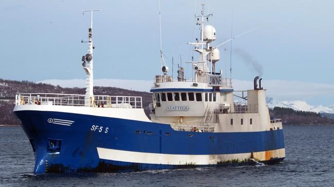 Banklinebåten Stattegg frå Selje. Foto: B. Henningsen, Scanfishphoto.