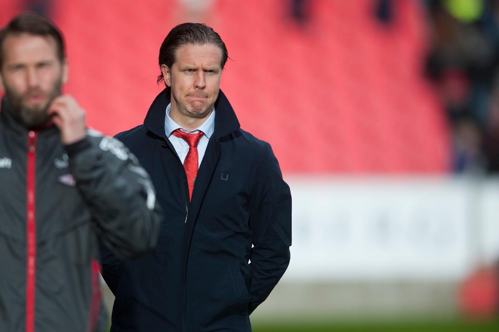 2015: I slutten av mai ble det kjent at Rikard Norling ikke fikk fortsette som Brann-trener.  Foto: Astrid M. Nordhaug /Digitalsport.no