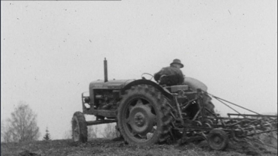Det gode traktorsete og ryggen