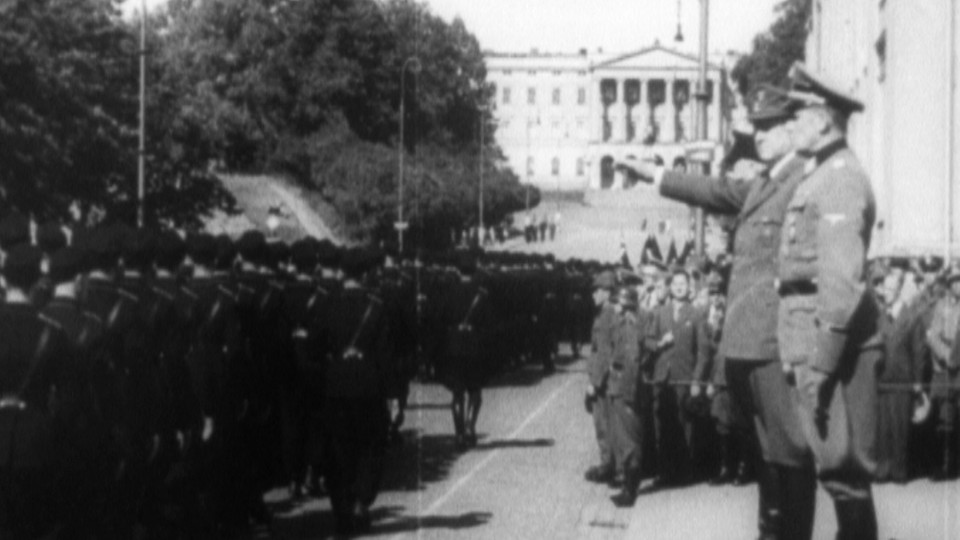 Skandinavia i Hitlers jerngrep