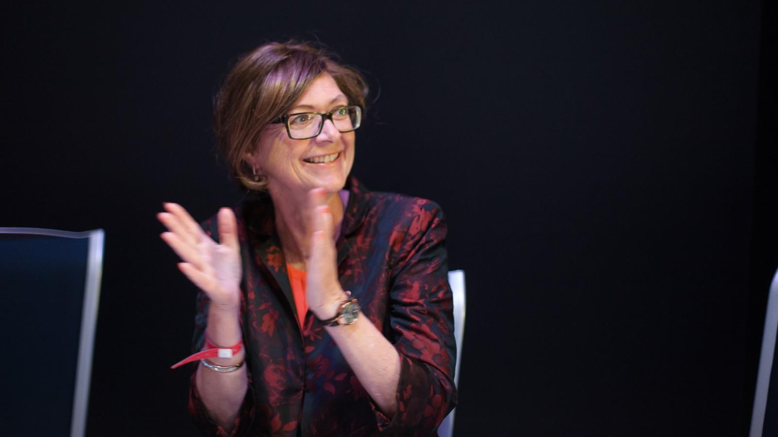 Ingrid Heggø er inne på Stortinget for ein ny fireårsperiode for Arbeidarpartiet.