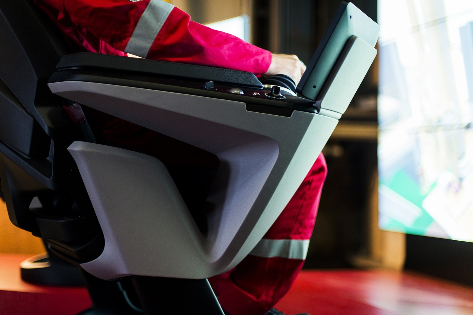 Juryen var svært begeistret for operatørstolen X-COM, som nå får Merket for god design.