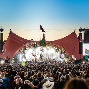 Den oransje scenen på Roskilde