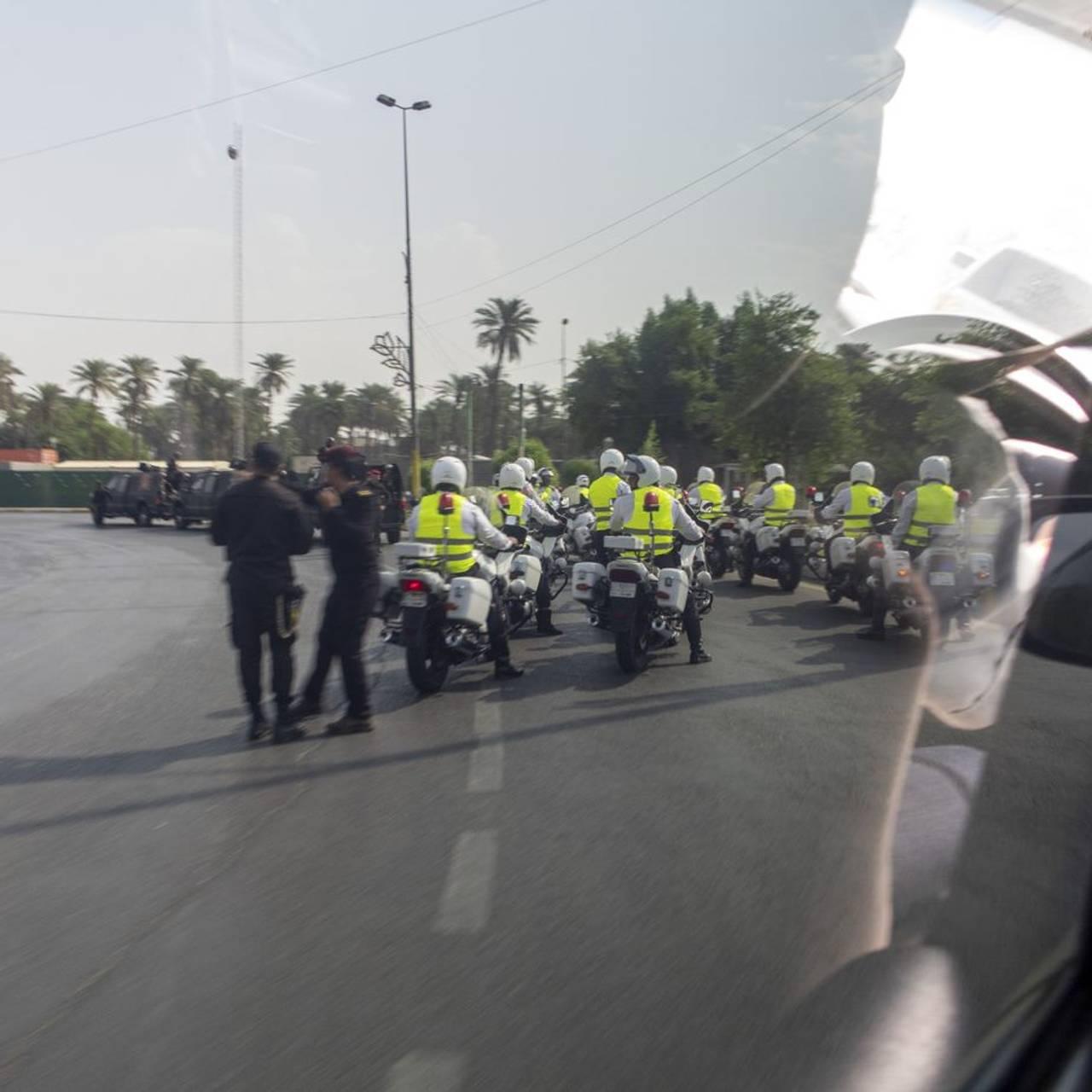 Irak Politieskorte