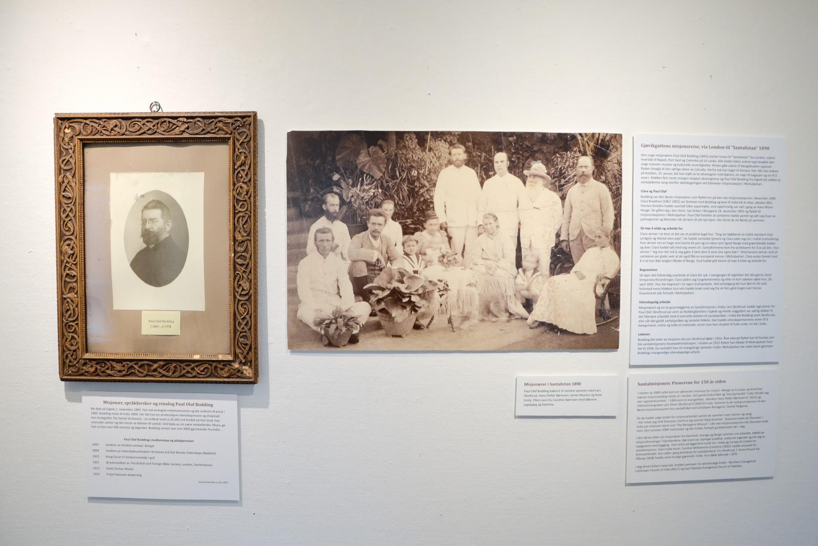 Bodding var en av flere misjonærer i Santalistan i 1890. Her med blant andre grunnleggerne av misjonsstasjonen, H P Børresen og Lars Skrefsrud.