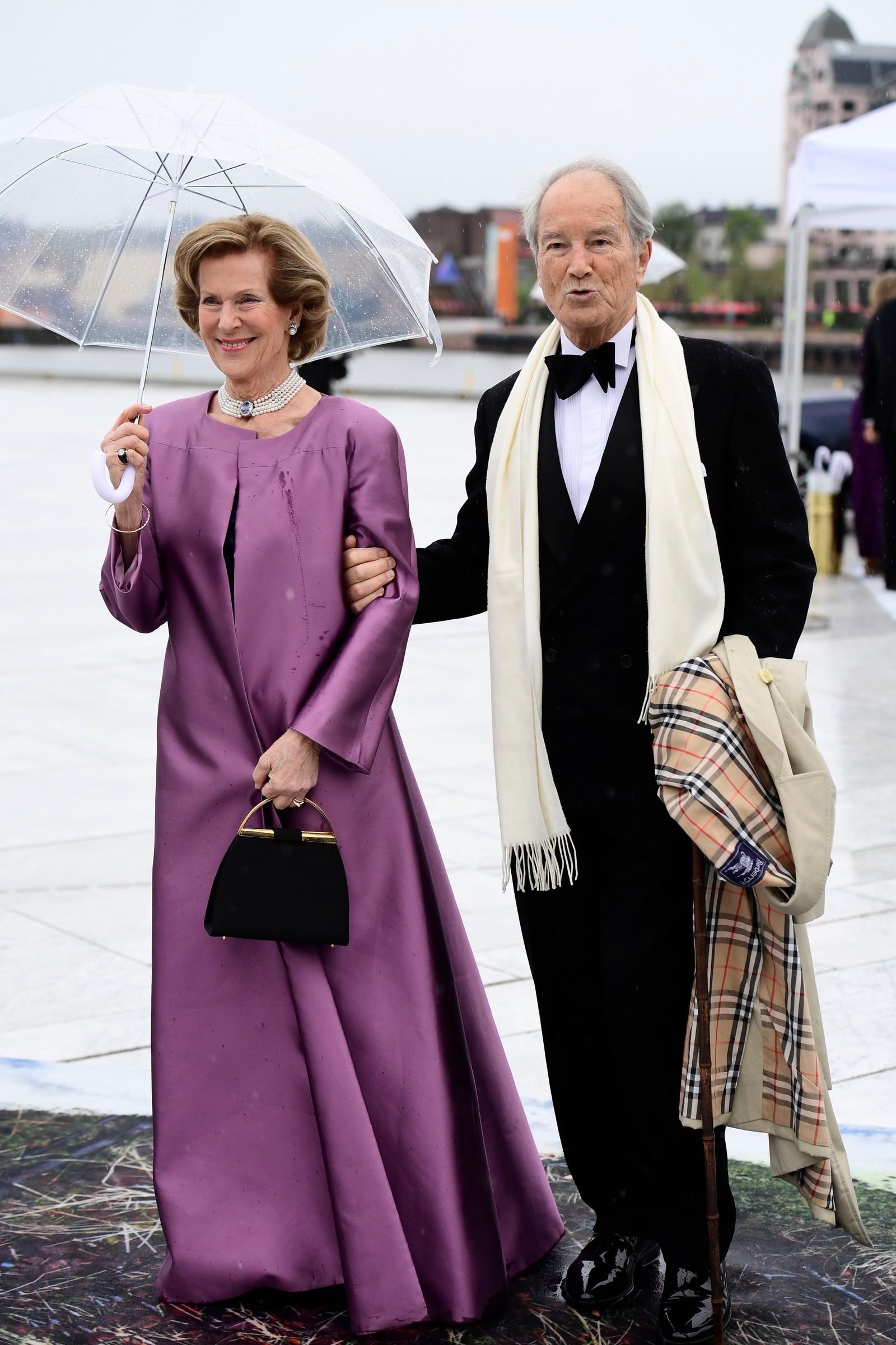 Madeleine Bernadotte Kogevinas og hennes ektemann Professor Bernhard Mach.