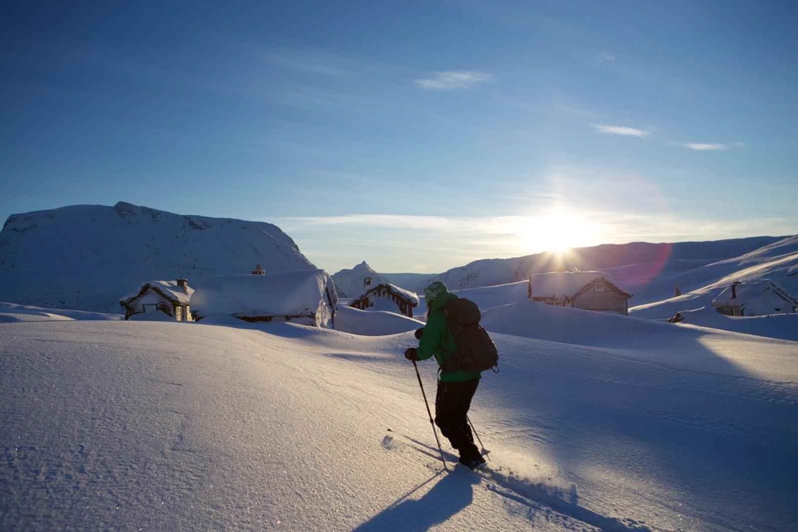 På Utvikfjellet 1. juledag - Støyvastøylen 840 moh.