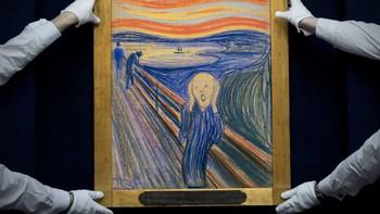 Skrik på auksjon ved Sotheby's i New York