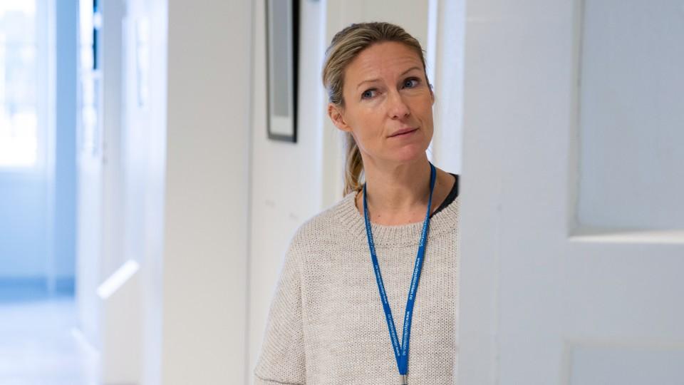 Helene sjekker inn: Akuttpsykiatrisk avdeling