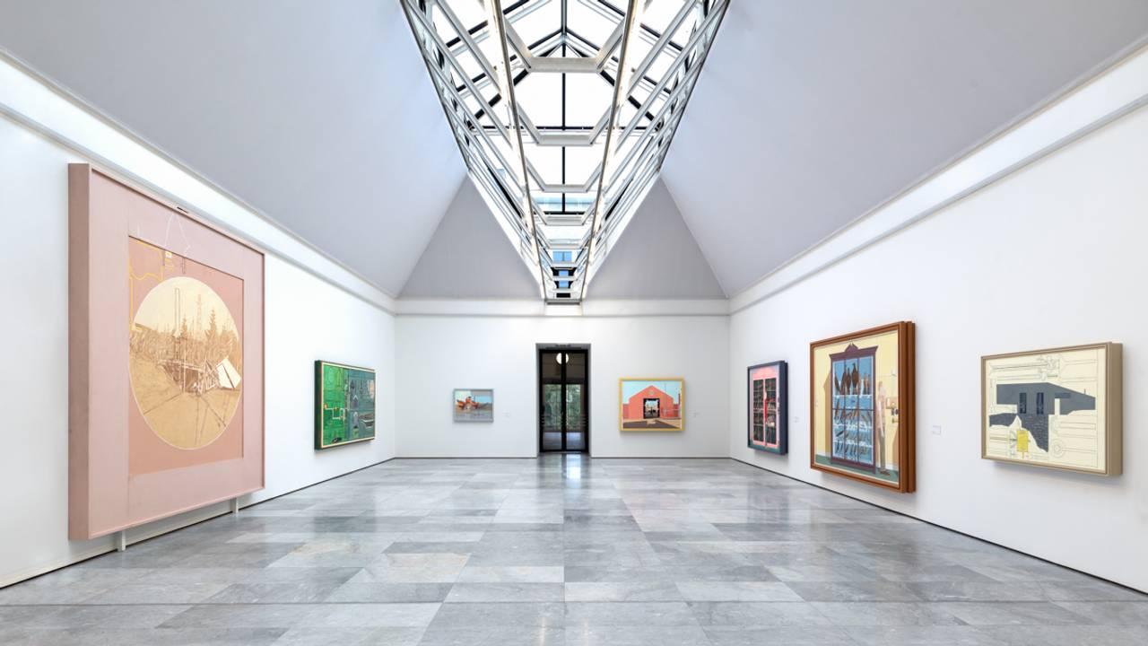 Installasjonfoto fra utstillingen Leonard Rickhard - Før og etter solnedgang.