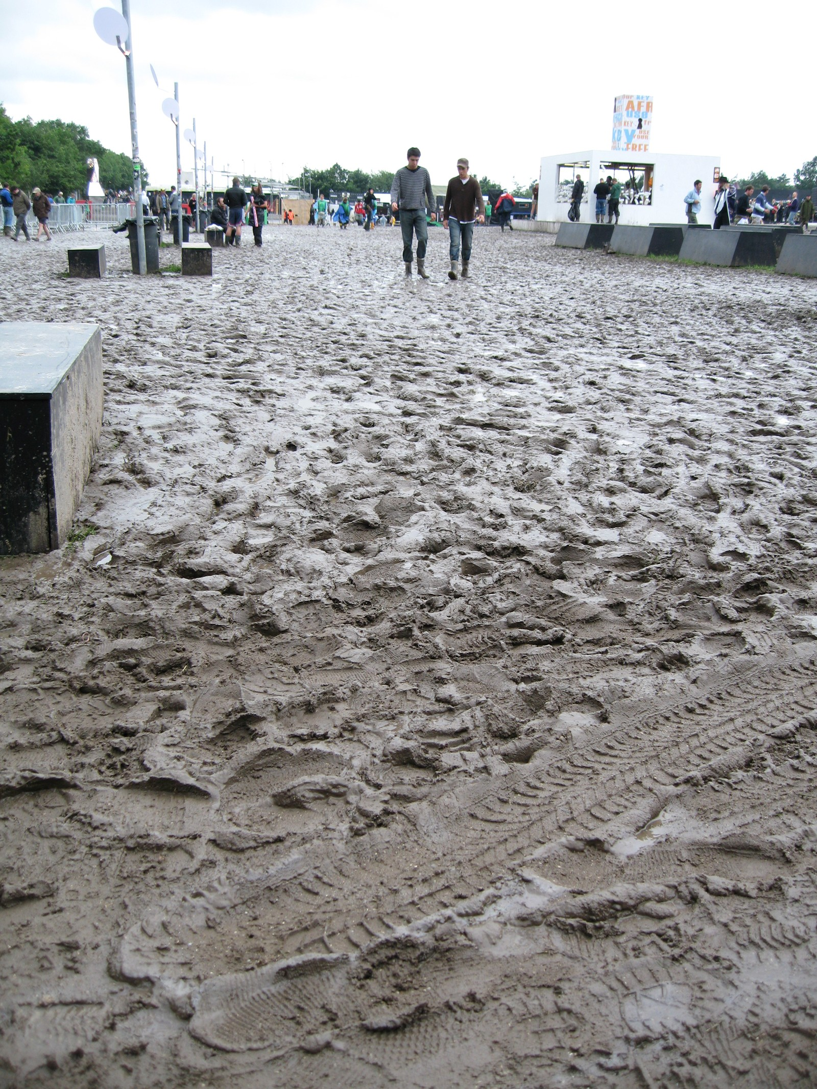 Roskildefestivalen – hvis noen var i tvil.