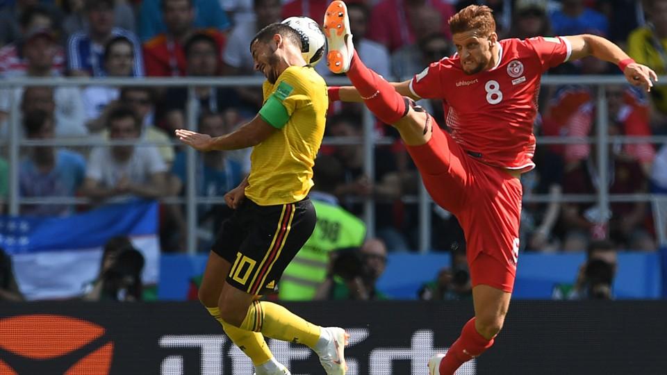 Fotball - VM: Høydepunkter Belgia - Tunisia, Sør-Korea - Mexico og Tyskland - Sverige